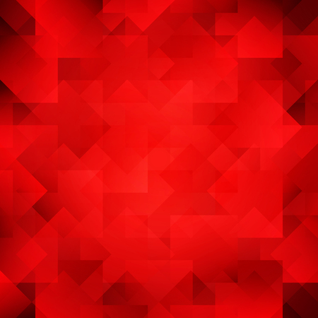 decorative shape: Abstract red background. Bright wallpaper pattern. illustration for modern party design. Elegant diamond shapes. Stock Photo