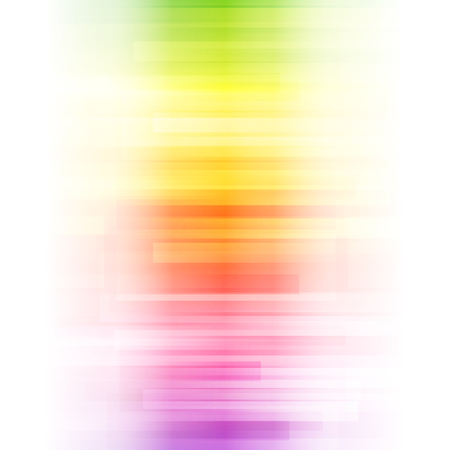 Abstract bright background. illustration for modern design. Spectrum rainbow colors. Stripe border pattern. Invitation or greeting card design. Gradient colorful wallpaper with space for message. 免版税图像