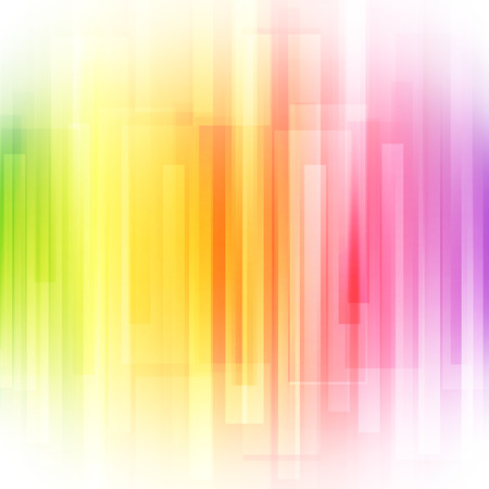 Abstract bright background. illustration for modern design. Spectrum rainbow colors. Stripe border pattern. Invitation or greeting card design. Gradient colorful wallpaper with space for message. Foto de archivo