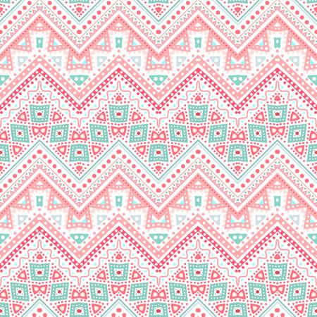 zig: Tribal ethnic zig zag pattern.