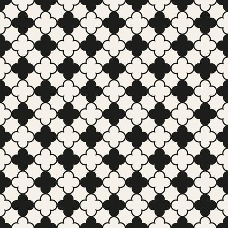 blanco negro: Modelo inconsútil de diferentes Universal. Textura sin fin se puede utilizar para el papel pintado, patrones de relleno, de fondo página web de la textura superficial. Monocromo ornamento geométrico.