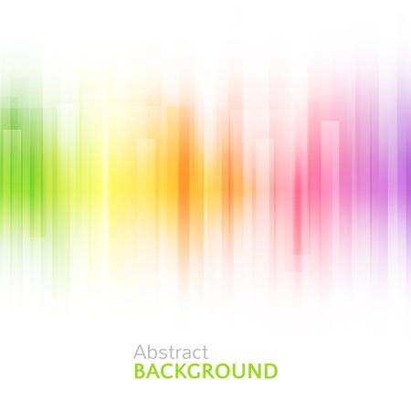 bright colors: Abstract bright background. illustration for modern design. Spectrum rainbow colors. Stripe border pattern. Invitation or greeting card design. Gradient colorful wallpaper with space for message. Stock Photo