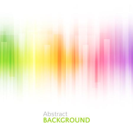 Abstracte heldere achtergrond. illustratie voor modern design. Spectrum kleuren van de regenboog. Streepgrens patroon. Uitnodiging of wenskaart ontwerp. Gradiënt kleurrijke behang met ruimte voor bericht.
