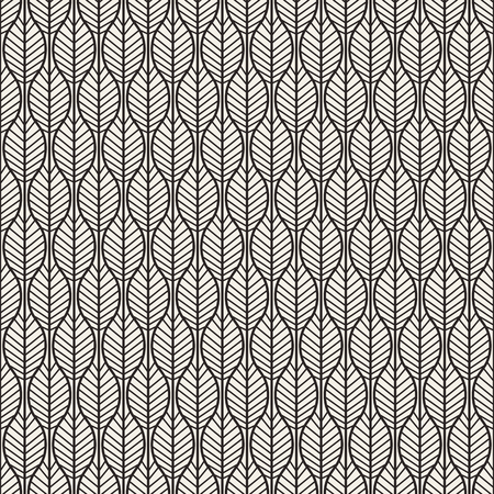 white color: Universal different seamless pattern. Endless texture can be used for wallpaper, pattern fills, web page background, surface texture. Monochrome geometric ornament. Stock Photo