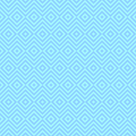 twill: Ethnic tribal zig zag and rhombus seamless pattern. Vector illustration for beauty fashion design. Blue white colors. Vintage stripe style.
