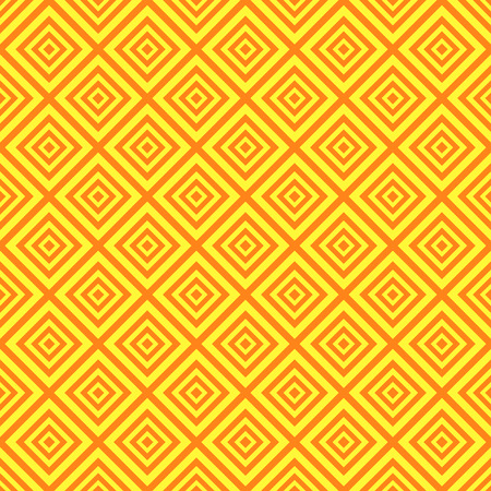 diamond texture: Baby different seamless pattern. Orange and yellow colors. Endless texture can be used for printing onto fabric and paper or scrap booking. Stripes, rhombus, diamond. Stock Photo