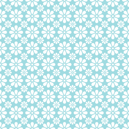 classic: Vintage seamless pattern. Endless texture for wallpaper, fill, web page background, surface texture. Monochrome geometric ornament. Blue and white shabby pastel colors.