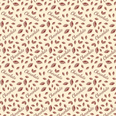 Chocolate bars seamless pattern.