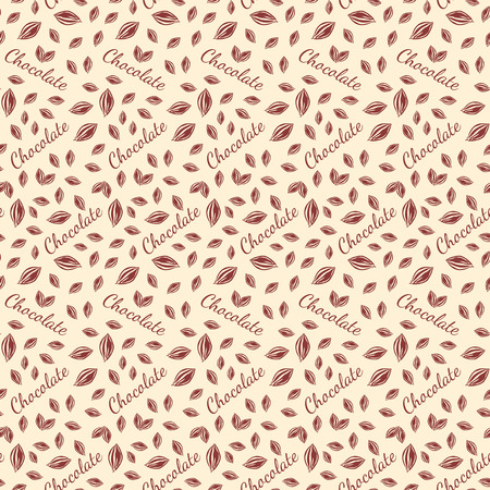 Tablettes de chocolat seamless pattern.