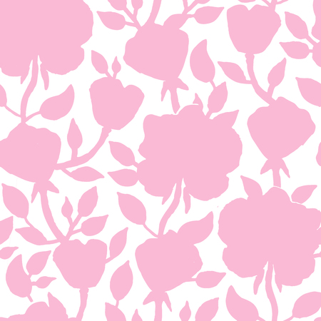 wallpaper floral: Floral seamless pattern. Vector illustration for beautiful design. Endless set floral texture for textile. Can be used for wallpaper, pattern fill, web page background, surface. Illustration