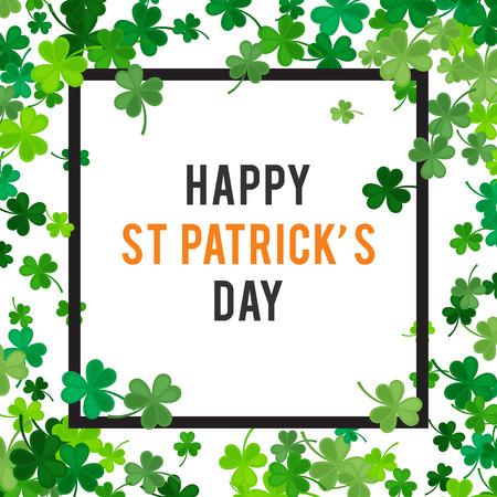 St Patricks Day background.