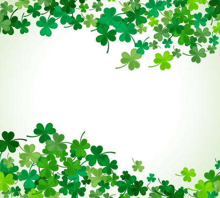 irish symbols: St Patricks Day background.