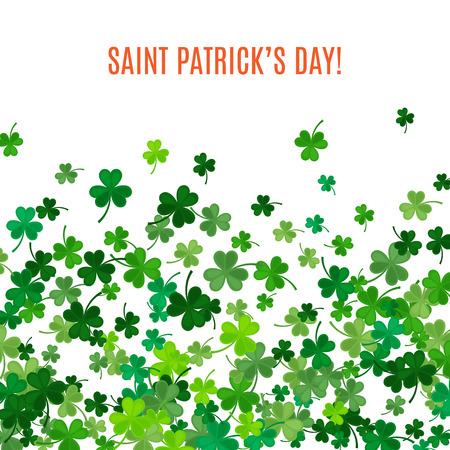 keltische muster: St Patrick Tag Hintergrund. Illustration