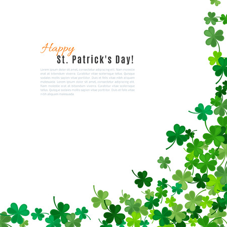 St Patrick's Day background.