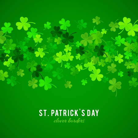celtic shamrock: St Patricks Day background.