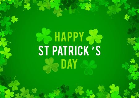 St Patrick's Day achtergrond.