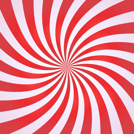 scalable: Swirling radial pattern background. Vector illustration for swirl design. Vortex starburst spiral twirl square. Helix rotation rays. Converging psychadelic scalable stripes. Fun sun light beams.