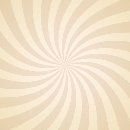De remolino de fondo patrón radial. Ilustración del vector para el diseño de remolino. Vortex Starburst cuadrados giro en espiral. Helix rotación de los rayos. La convergencia de las rayas psychadelic escalables. haces de luz de sol divertidas.