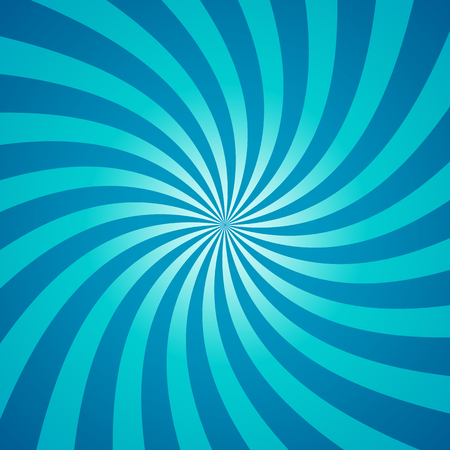 Swirling radial pattern background. 矢量图像