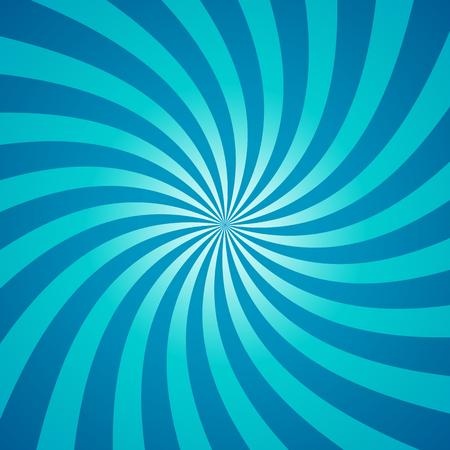 Wervelende radiaal patroon achtergrond. Stock Illustratie