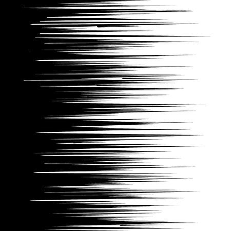 Abstract comic book speed lines background.