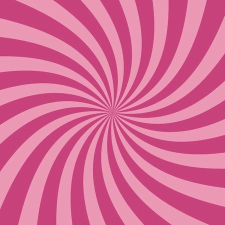 fondo de circo: De remolino de fondo patrón radial. Ilustración del vector para el diseño de remolino. Vortex Starburst cuadrados giro en espiral. Helix rotación de los rayos. La convergencia de las rayas psychadelic escalables. haces de luz de sol divertidas.