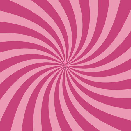 circus background: Swirling radial pattern background. Vector illustration for swirl design. Vortex starburst spiral twirl square. Helix rotation rays. Converging psychadelic scalable stripes. Fun sun light beams.