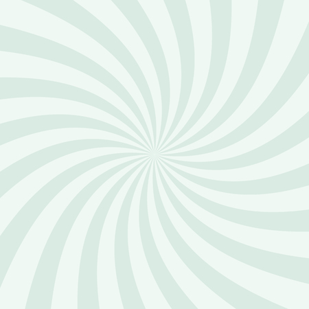 white cream: Swirling radial pattern background. Vector illustration for swirl design. Vortex starburst spiral twirl square. Helix rotation rays. Converging psychadelic scalable stripes. Fun sun light beams.