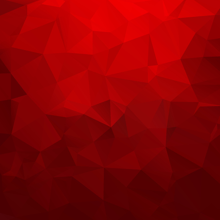 red wallpaper: Abstract geometric triangle background. Vector illustration for modern design. Red colors. Aqua water ice crystal. Bright poster. Decorative graphic mosaic texture. Retro wallpaper.