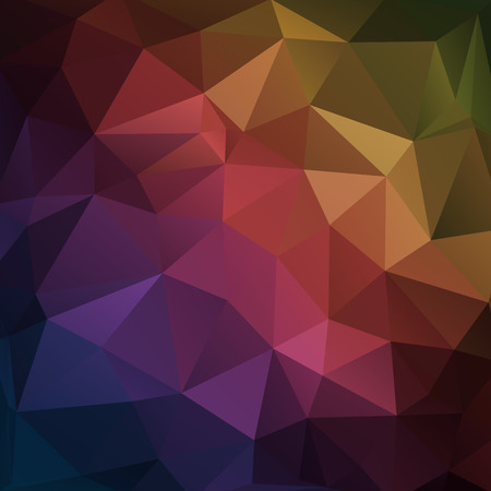 ice crystal: Abstract geometric triangle background. Vector illustration for modern design. Dark colors. Aqua water ice crystal. Bright poster. Decorative graphic mosaic texture. Retro wallpaper.