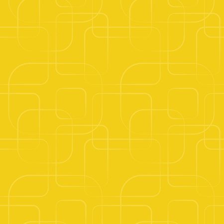 yellow: Retro shape seamless pattern. Endless texture for wallpaper, fill, web page background, surface texture. Shabby geometric ornament. Yellow color. Square border and frame shapes.