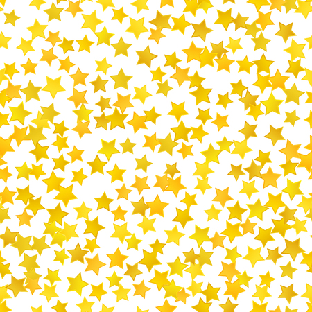 star background: Abstract yellow star background. Illustration