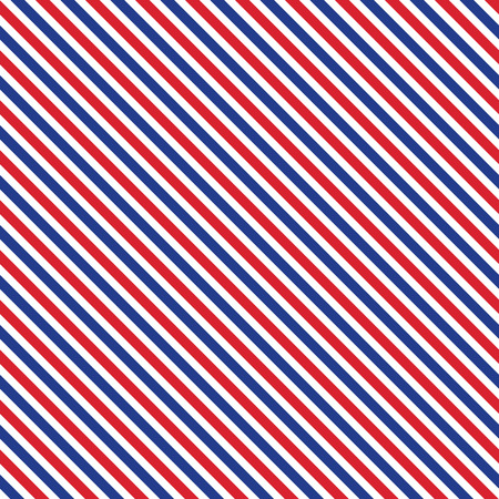 red wallpaper: Patriotic red, white, blue geometric seamless pattern. Vector illustration with American symbol. USA flag wallpaper. Happy Independence Day 4th of July. Illustration