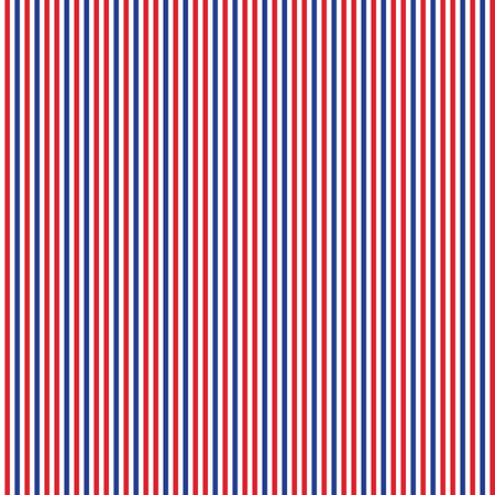 rouge patriotique, blanc, bleu, seamless, modèle géométrique. Vector illustration avec le symbole américain. USA Fond d'écran drapeau. Heureux le 4ème jour de l'Indépendance de Juillet.