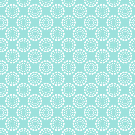 aqua background: Vintage pale blue seamless pattern. Vector illustration. Endless texture for wallpaper, fill, web page background, surface texture. Shabby geometric ornament.