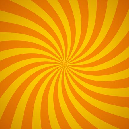 De remolino de fondo patrón radial. Ilustración del vector para el diseño de remolino. Vortex Starburst cuadrados giro en espiral. Helix rotación de los rayos. La convergencia de las rayas psychadelic escalables. haces de luz de sol divertidas. Ilustración de vector