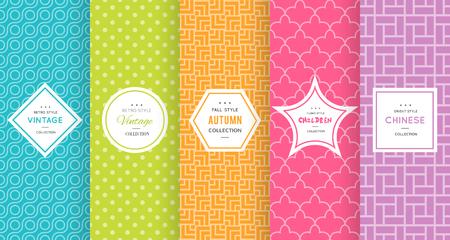 cute background: Cute bright seamless pattern background