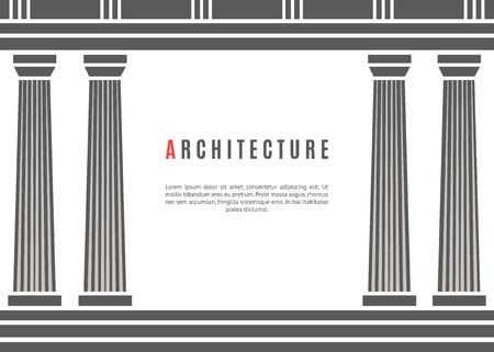 architecture: Architecture greek temple background