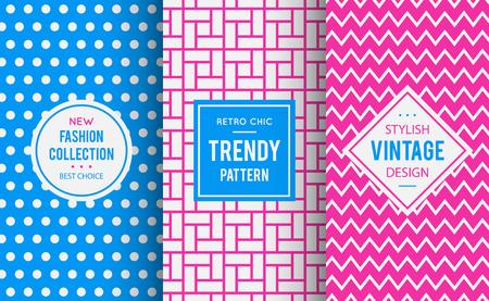 girlish: Chic seamless pattern