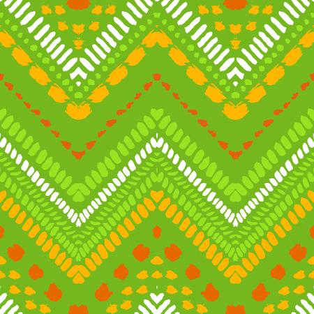Tribal ethnic seamless pattern. Doodle hand drawn art print.