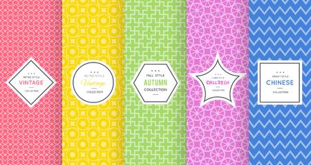 Cute bright seamless pattern background