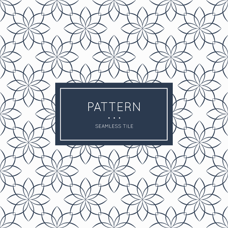 decoration style: Geometric seamless pattern. Vector illustration for fashion minimalistic design. Minimal style abstract background decoration. Modern elegant wallpaper with border frame. White black vintage color