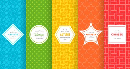 Cute bright seamless pattern background. Ilustracja