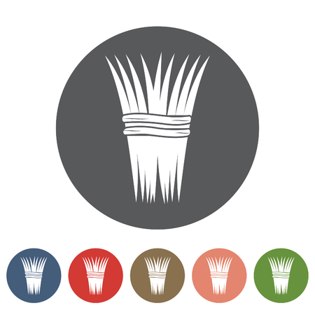 thatch: Thatch icon set.Vector illustration