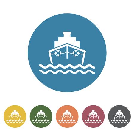 Ship icon.Vector illustration