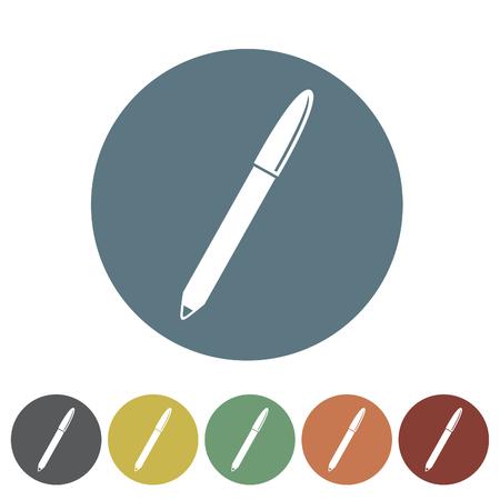 Eyebrow pencil icon.Vector illustration