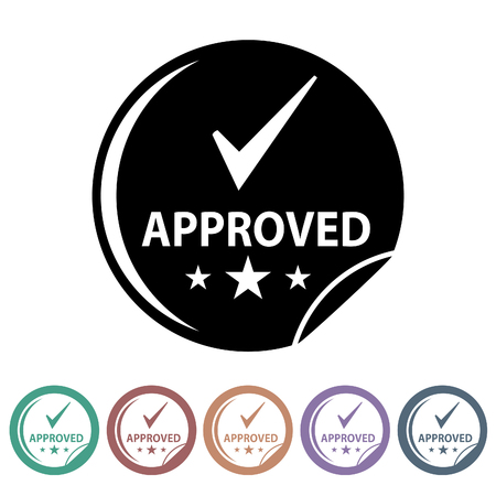 checklist: Quality control icons set.Vector illustration