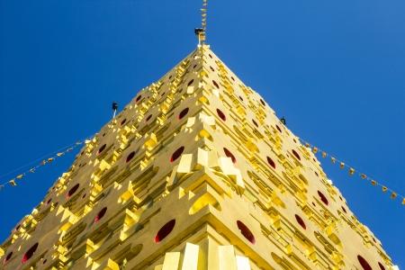 gaya: This is hai golden Bodh Gaya in Sangkhlaburi