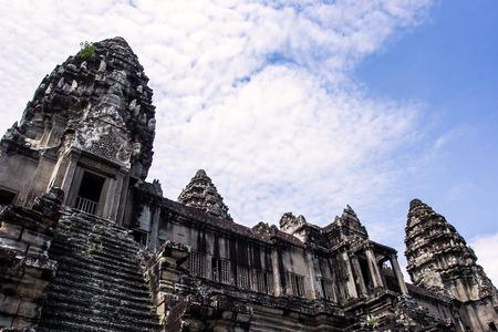 Angkor Wat -Ta Keo temple Cambodia 版權商用圖片