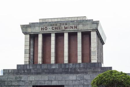 min: ho chi min building is simbolic as veitnam Editorial